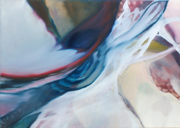 INTRAVISION 2007, No. 702,, Öl auf Leinwand, 100 cm x 140 cm